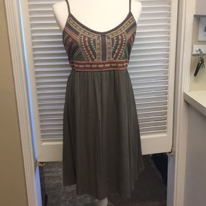 Maurices embroidered dress